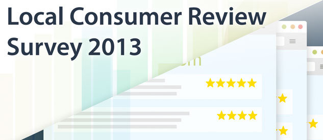 Local Consumer Review Survey 2013