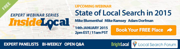 InsideLocal Webinar: State of Local Search in 2015