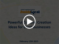Content Creation Ideas for Local Businesses