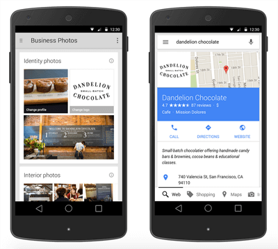 Google My Business photo updates