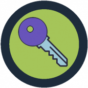 Latest Key Icon