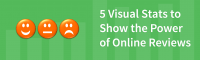5 Visual Stats to Show the Power of Online Reviews