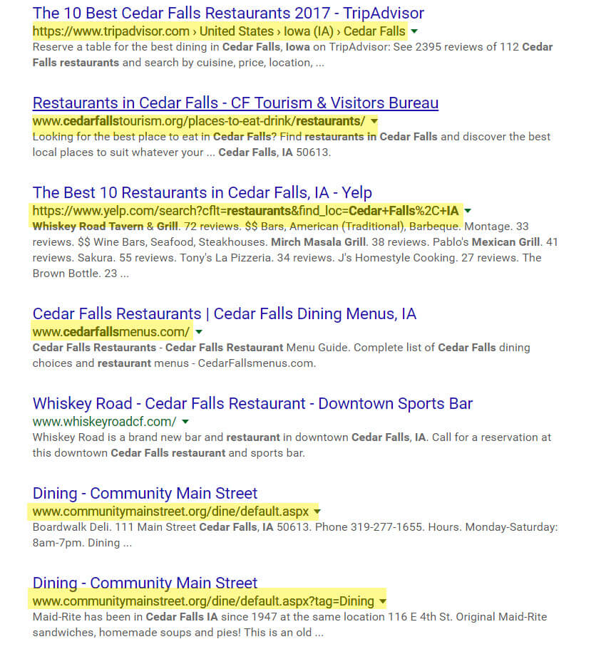 online-directories-in-search-results