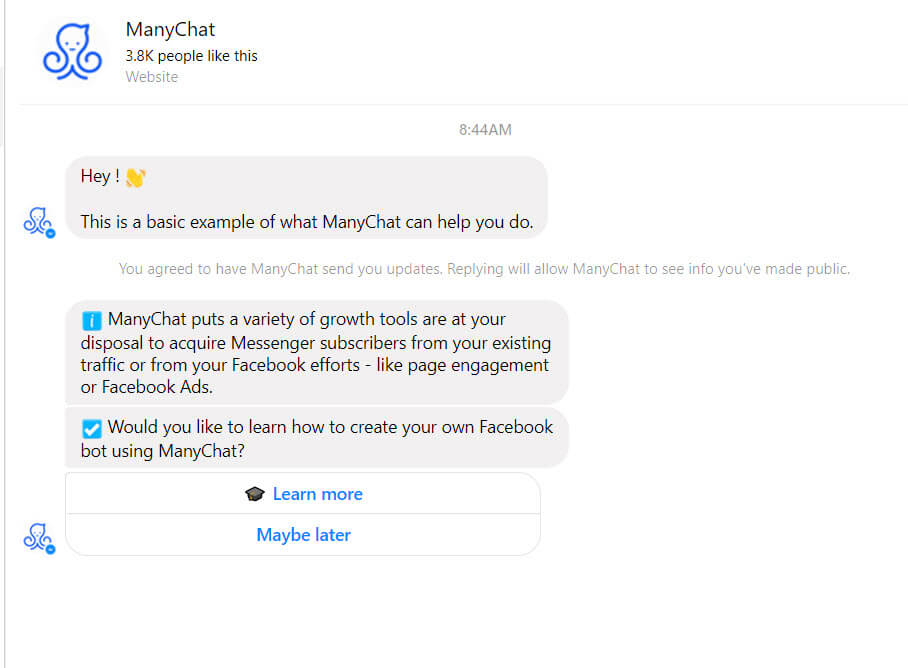 Manychat Live Chat