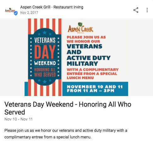 Veterans Day Post