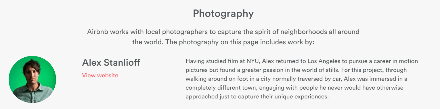 Airbnb Photography