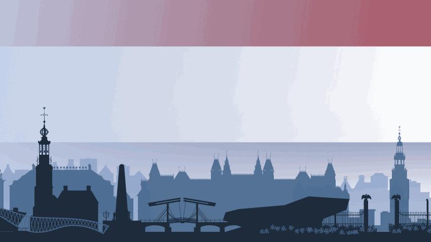 Netherlands skyline