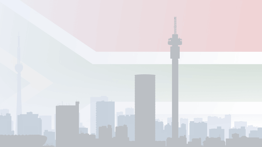 South African skyline
