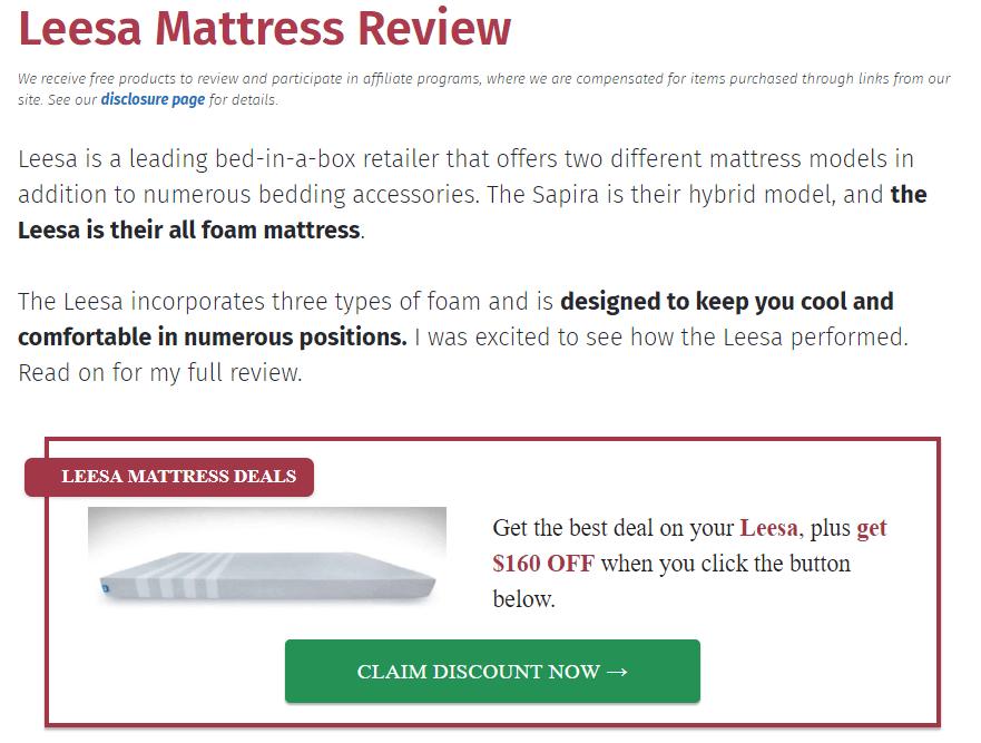 Mattress Clarity