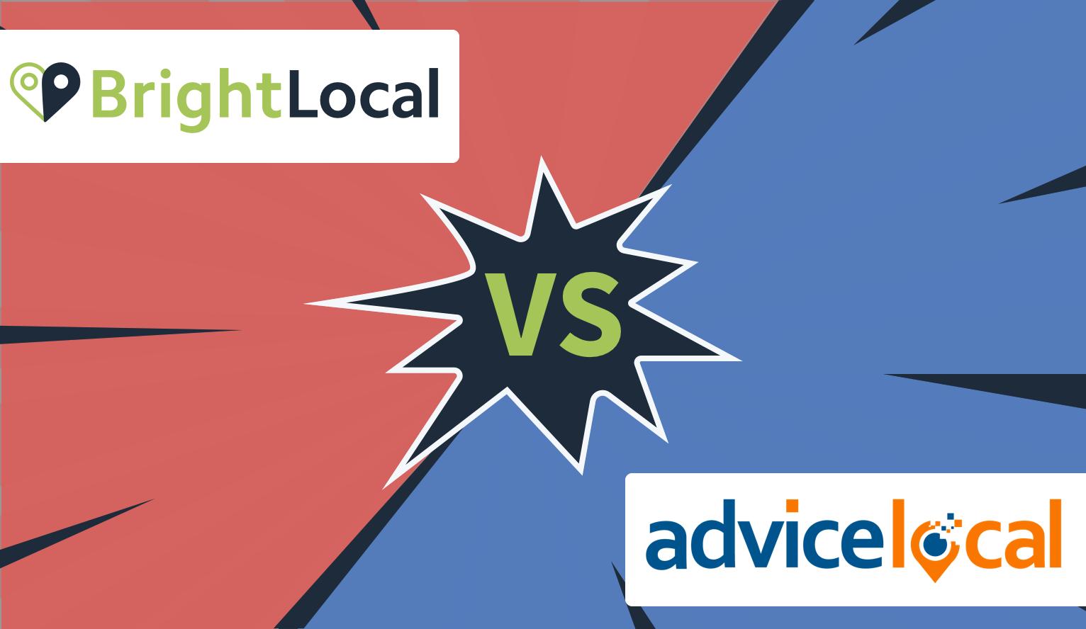 BrightLocal vs AdviceLocal