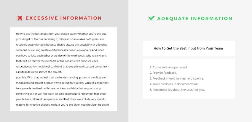 Landing page design guidelines